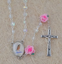 Crystal beads rosary