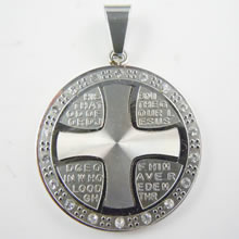 Fashion stainless steel medal