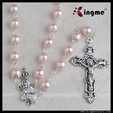 Pearl beads rosary
